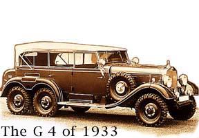 4WD history, Mercedes-Benz
