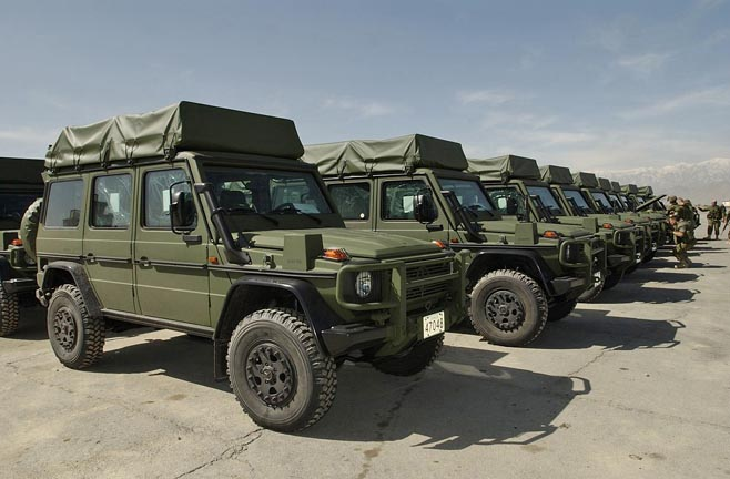 Mercedes G Wagon Military Vehicles